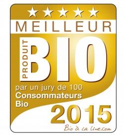 Logo Meilleur Produit bio 2015